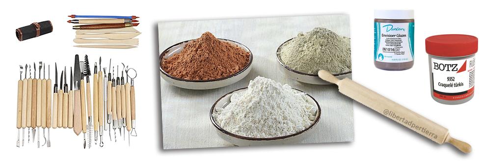 materiales para ceramica
